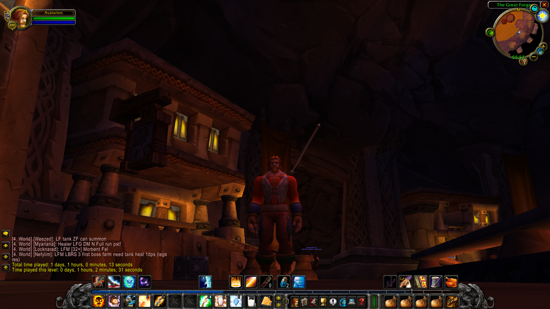 Avalarion in Ironforge