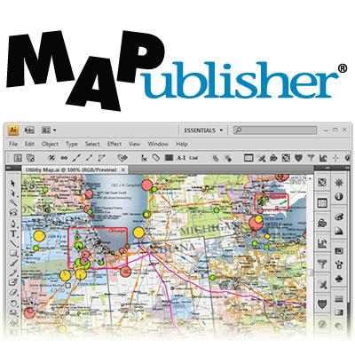 Avenza MAPublisher for Adobe Illustrator v10.1.1
