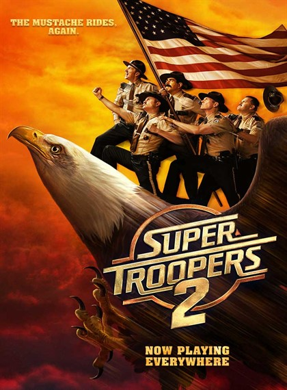 Süper Polisler 2 - Super Troopers 2 - 2018 -  Türkçe Dublaj