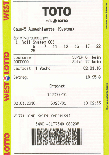 Lotto Quicktipp Sinnvoll