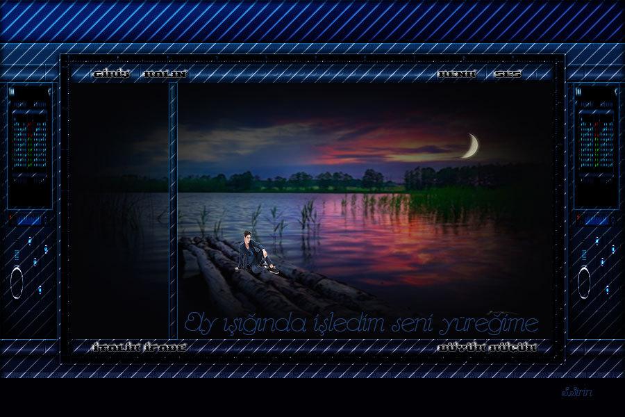 Sabri Şirin'den Flatcast Radyolarınız için hazırlanmış «Ay ışığında işledim seni yüreğime» isimli Tema __