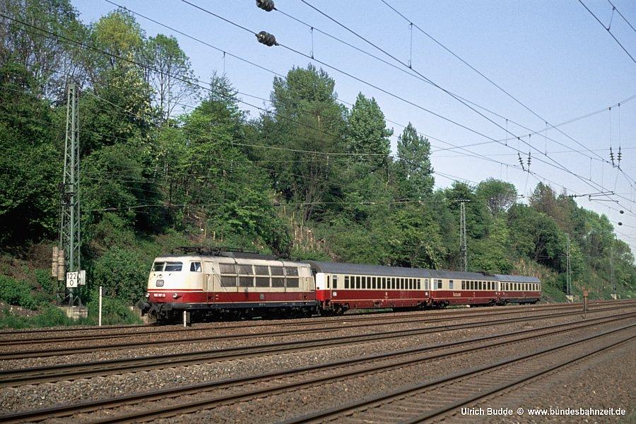 Züge in Langeweihla/Schnellzüge B35-103117