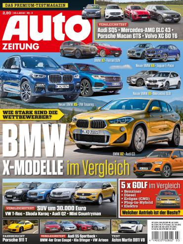: Auto Zeitung Magazin Januar No 03 2018