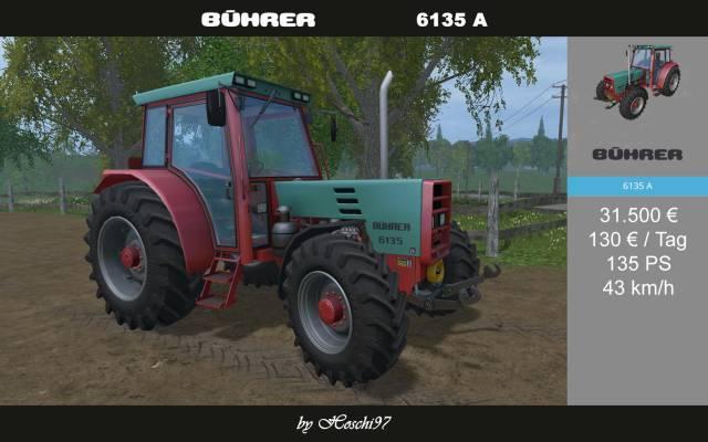 (LS15) Bührer 6135 im Farmtech-Skin