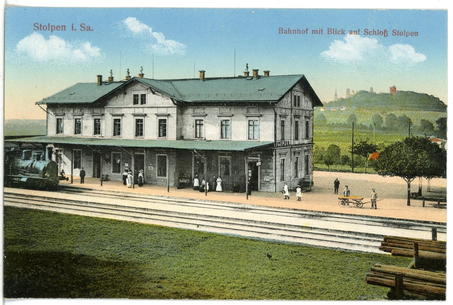 Bahnhof Stolpen