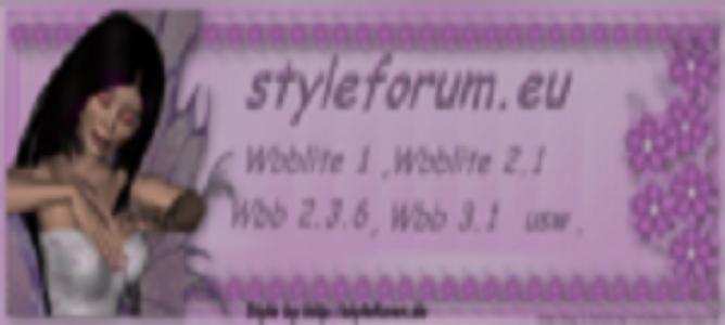 3 Styleforum und Bastelecke