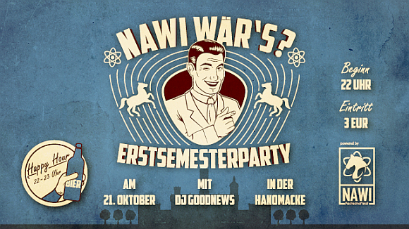 NaWi wär's Ersi-Party 21.10.2017 HanoMacke