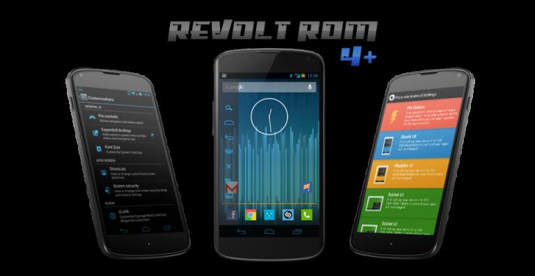 Samsung Galaxy S4 I9505 - ReVolt ROM JellyBean [4 2 2