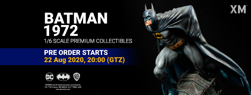 Premium Collectibles : Batman 1972 Cover Art 1/6 Batman1972pobannerx6k0d