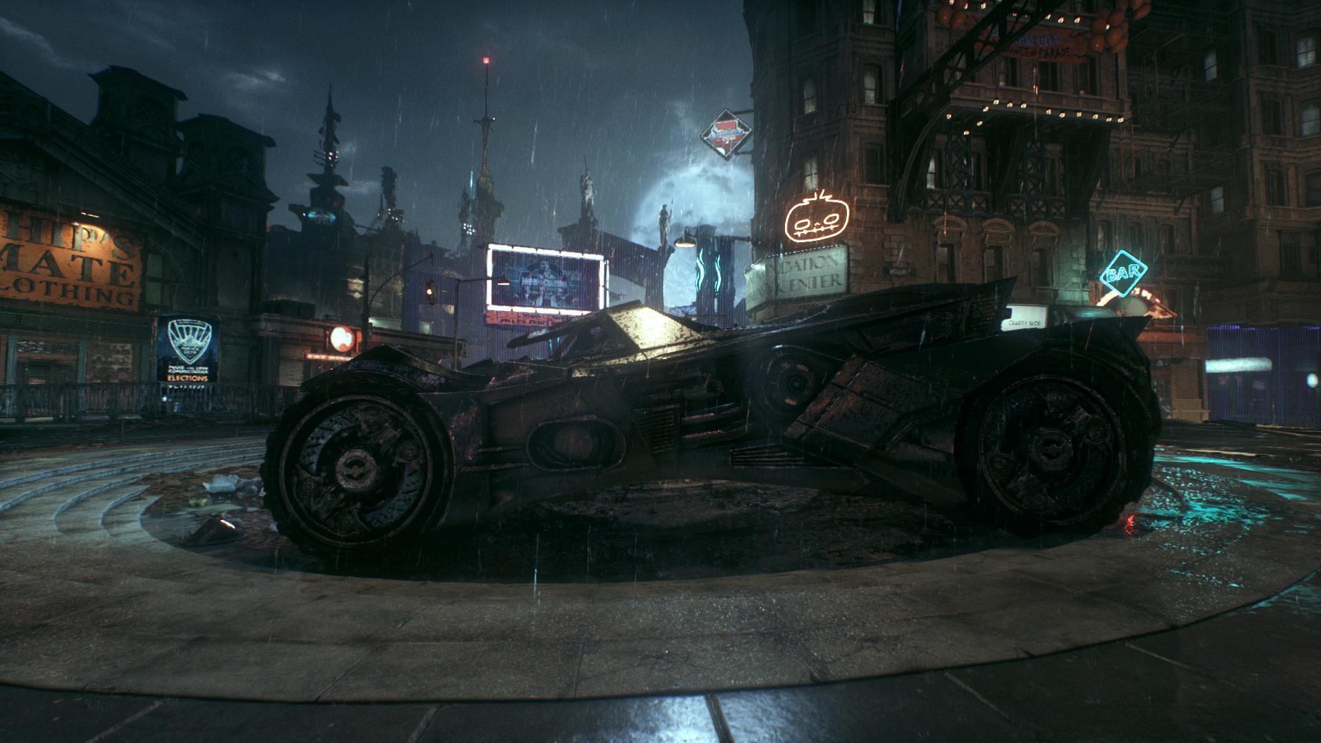 Magic Of Rocksteadys World Design In Batman Arkham Knight Resetera Return To Asylum Reg 3 Ps4 Well It Looks Really Cool At Least