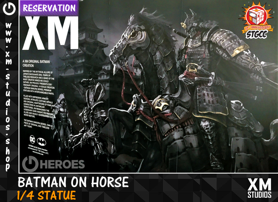 XM Studios : Officiellement distribué en Europe ! - Page 5 Batmanhorse5huc4