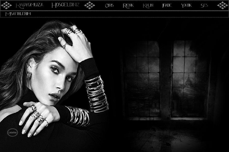Siyah & Beyaz Bayan Tema -3