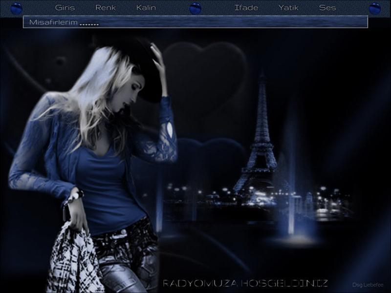Bayan Tema Mavi -3