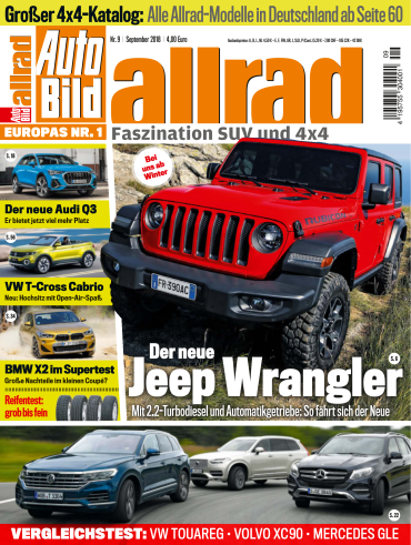 Auto Bild Allrad Magazin September No 09 2018