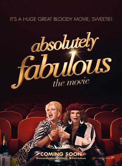 Absolutely Fabulous: The Movie | 2016 | BRRip XviD | Türkçe Dublaj
