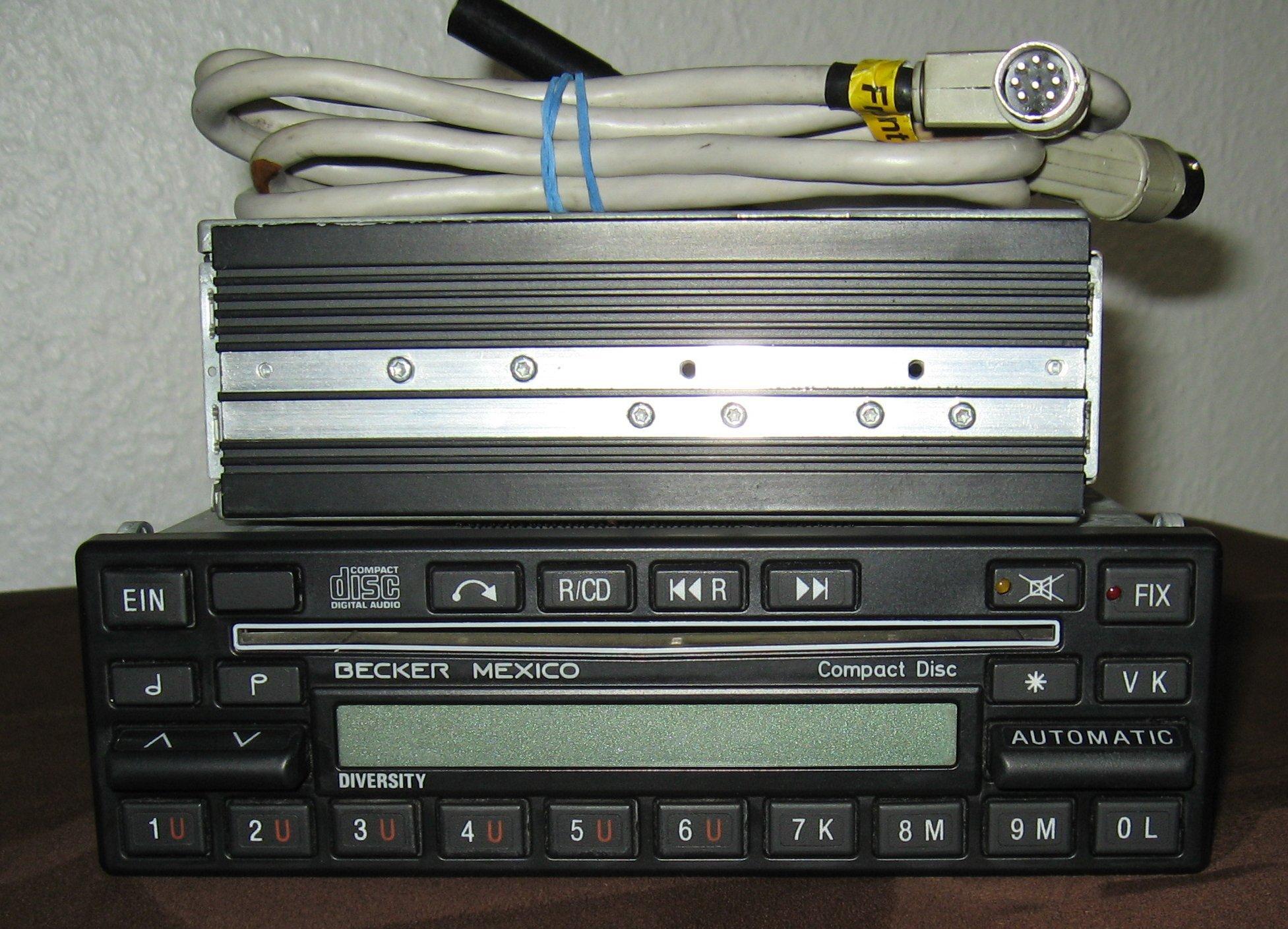 ist das becker mexico cd radio mit dem aktivbasssystem. Black Bedroom Furniture Sets. Home Design Ideas