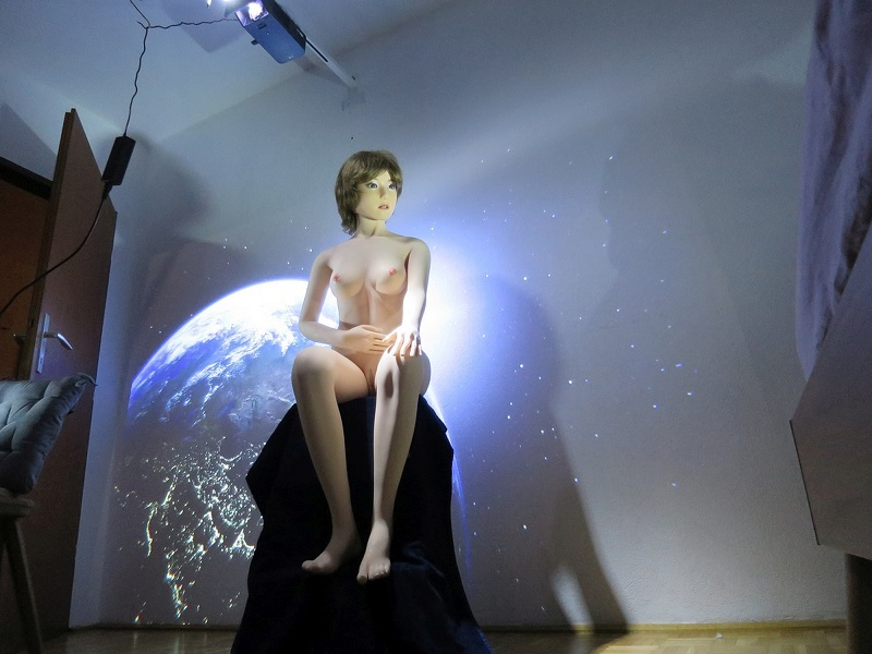 Abstrakte Lichtspiele Beamer7ijev