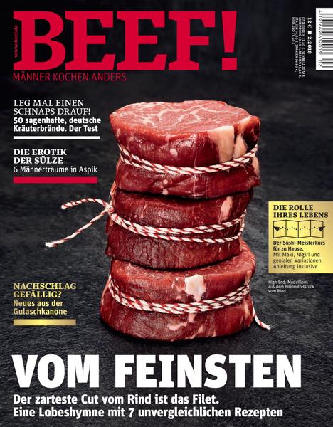 : Beef (für Männer mit Geschmack) Magazin März April No 02 2018
