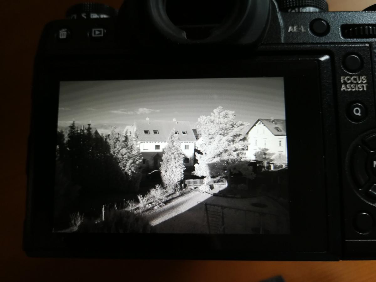 kamera umbau infrarot