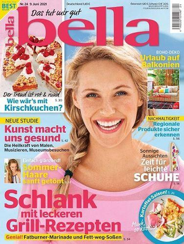 Cover: Bella Frauenmagazin No 24 vom 09  Juni 2021