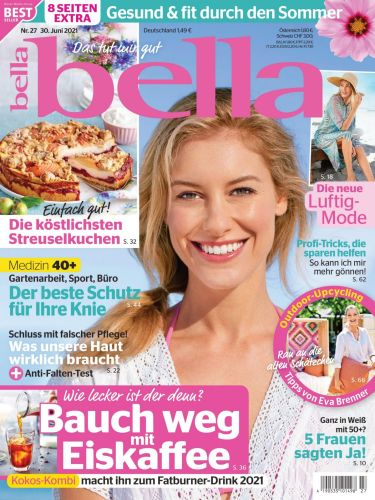 Cover: Bella Frauenmagazin No 27 vom 30  Juni 2021
