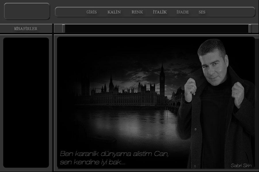 Flatcast radyo Bay tema_ Ben karanlık dünyama alıştım Can.. _