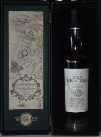Ben Bracken 22 Islay (2016) Flasche