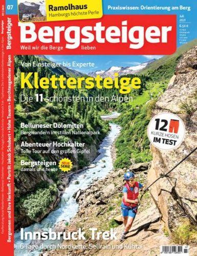 Cover: Bergsteiger Das Tourenmagazin No 27 2021