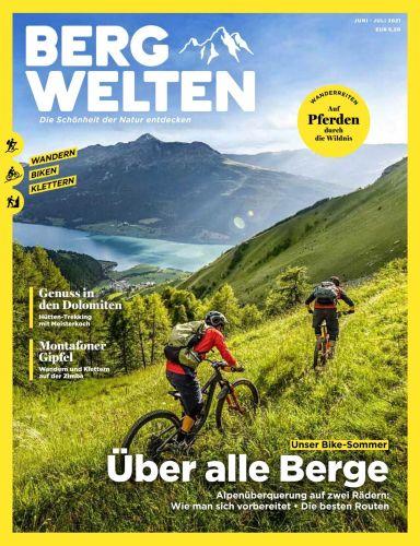 Cover: Bergwelten Das Magazin für alpine Lebensfreude No 03 2021