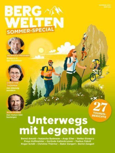 Cover: Bergwelten Deutschland Sommer Spezial 2021