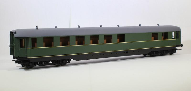 [H0] Wagen 820-601 der VES/M  Halle(S) Bericht4494a1o