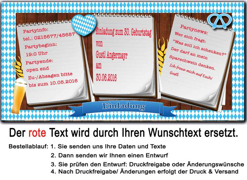 einladung zum brunch weißwurst frühstück oktoberfest bayrisch, Einladung