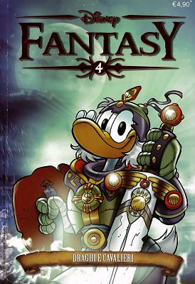 Disney Fantasy N.04 - Draghi e cavalieri (07-2011)