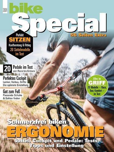 Cover: Bike Das Mountainbikemagazin Spezial 2021