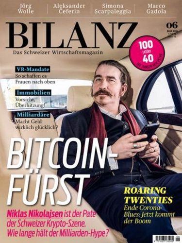Cover: Bilanz Wirtschaftsmagazin Nr 06 2021