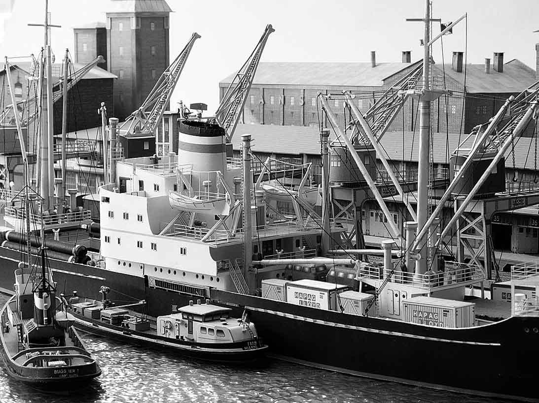 Un port - quelque part en Europe dans les années 60 Bild-1pmkcx