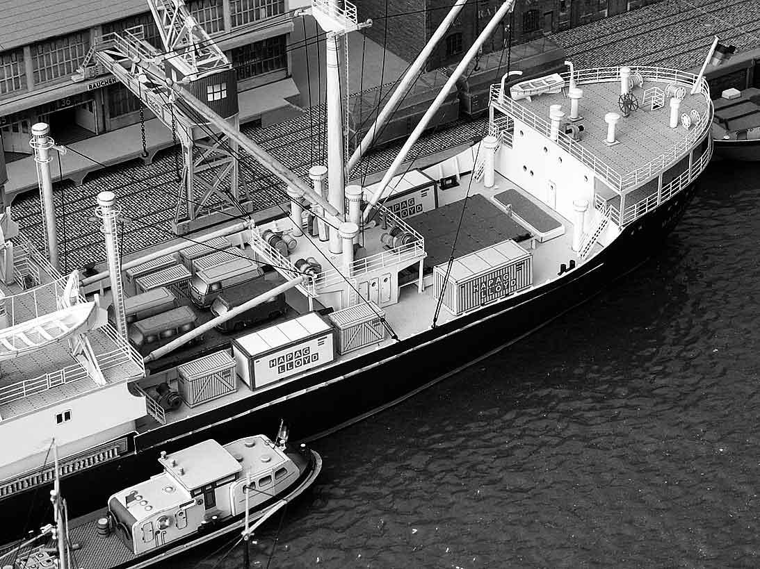 Un port - quelque part en Europe dans les années 60 Bild-45wjvq