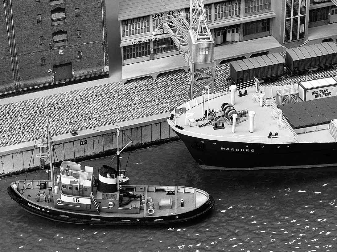 Un port - quelque part en Europe dans les années 60 Bild-804kpb