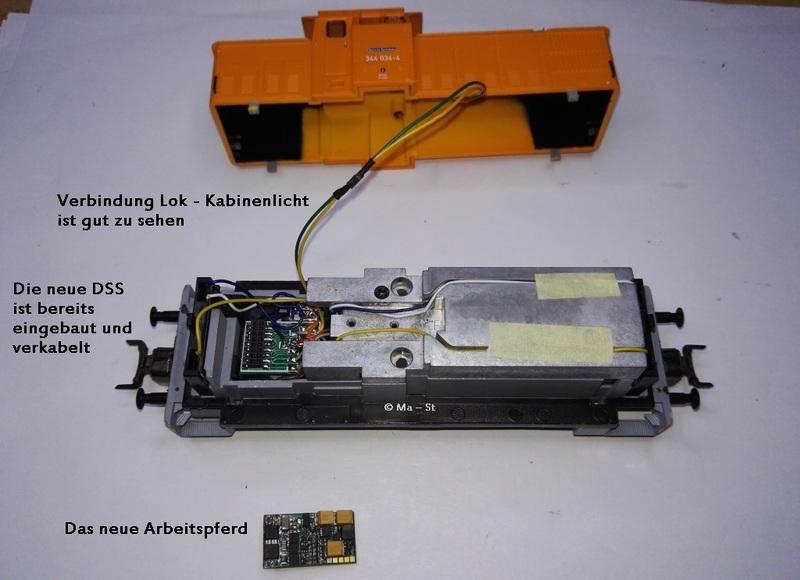 Piko BR 106/344DR mit Plux16, Sound & mehr - Stummis Modellbahnforum