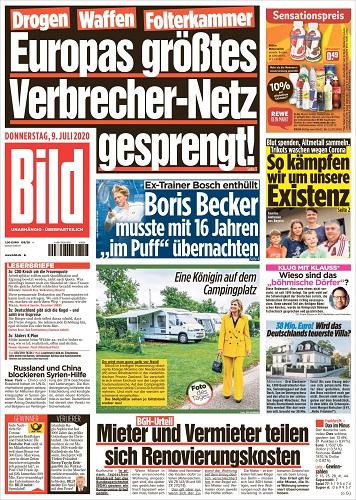 Archiv Bild Zeitung