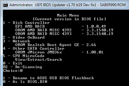 RE: Need help to update Microcode for FX-8350 on AMD 990FX