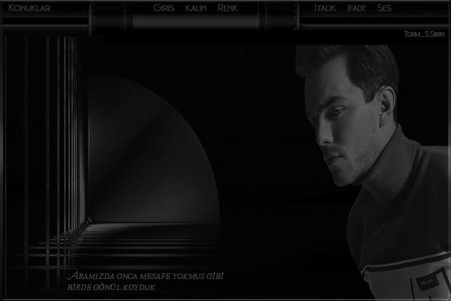 Flatcast radyo bay_ tema_ Birde gönül koyduk _ siyah-beyaz