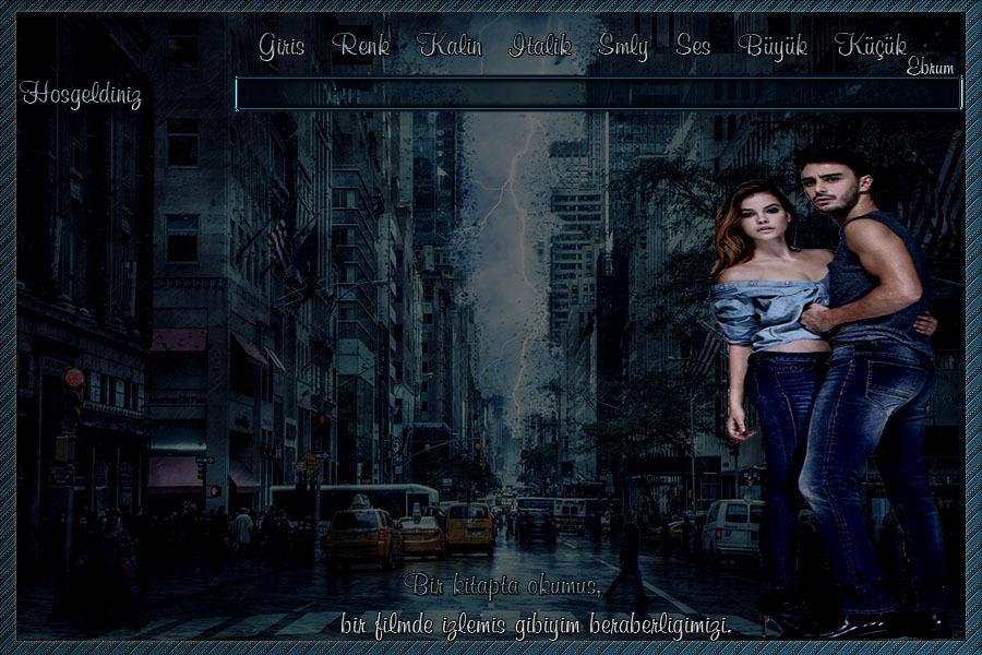 Bir Filmde Romantik Çift Tema