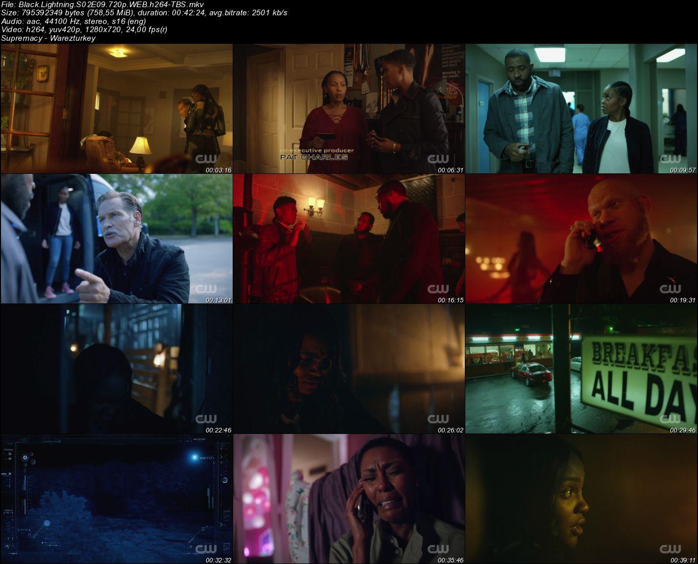 Black Lightning - Sezon 2 - 720p HDTV - Türkçe Altyazılı
