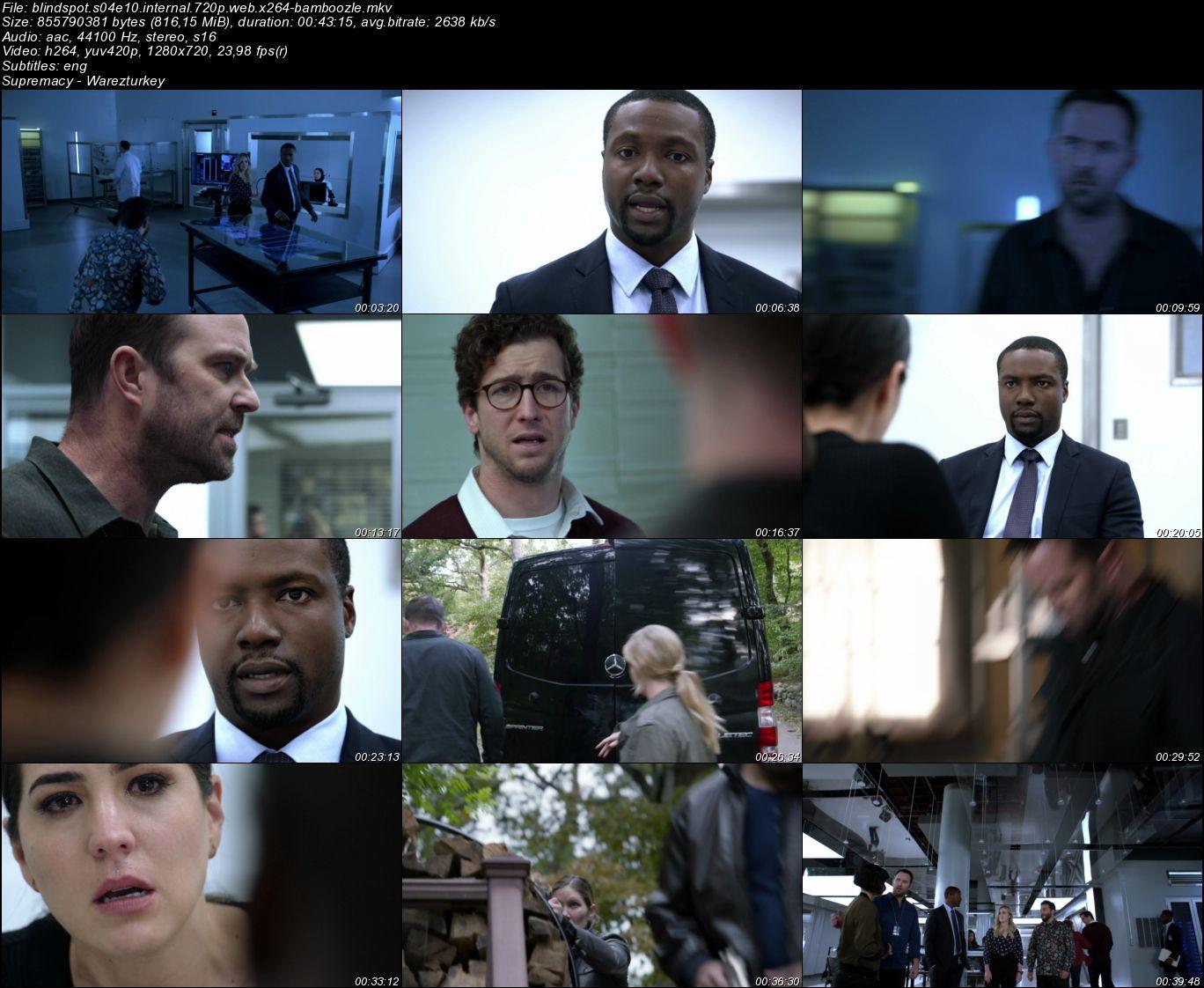 Blindspot - Sezon 4 - 720p HDTV - Türkçe Altyazılı
