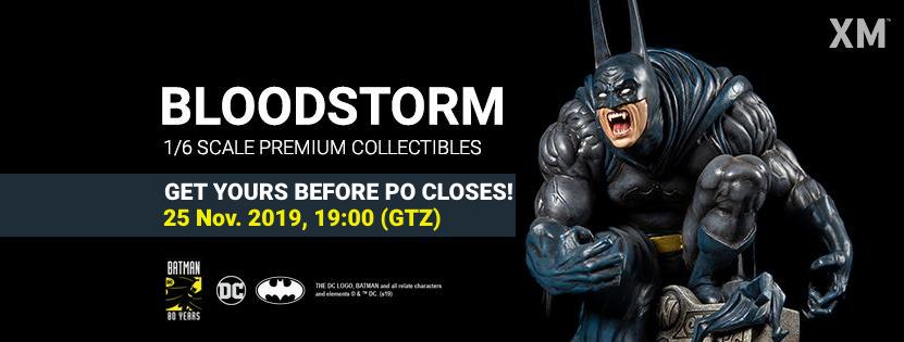 Premium Collectibles : Batman Bloodstorm Cover Art 1/6**  Bloodstormbannerpofinv8kwz