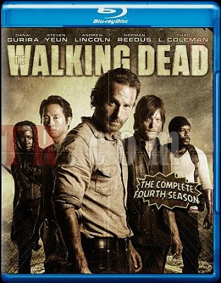 The Walking Dead - Stagione 4 (2014) (Completa) BDRip 1080P HEVC ITA ENG DD5.1 x265 mkv
