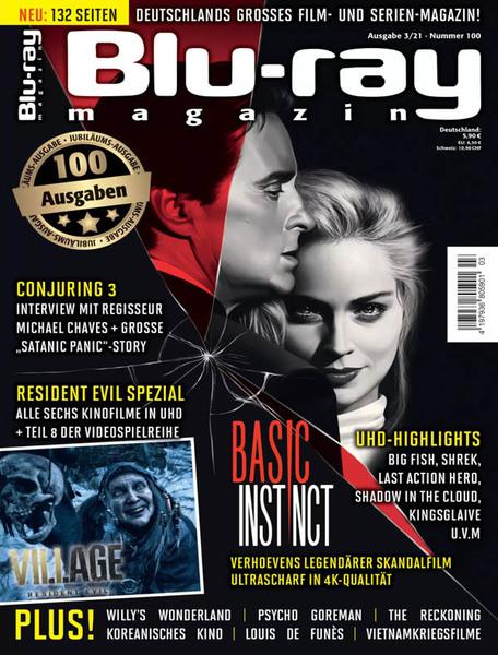 Cover: Blu-ray Magazin No 03 2021
