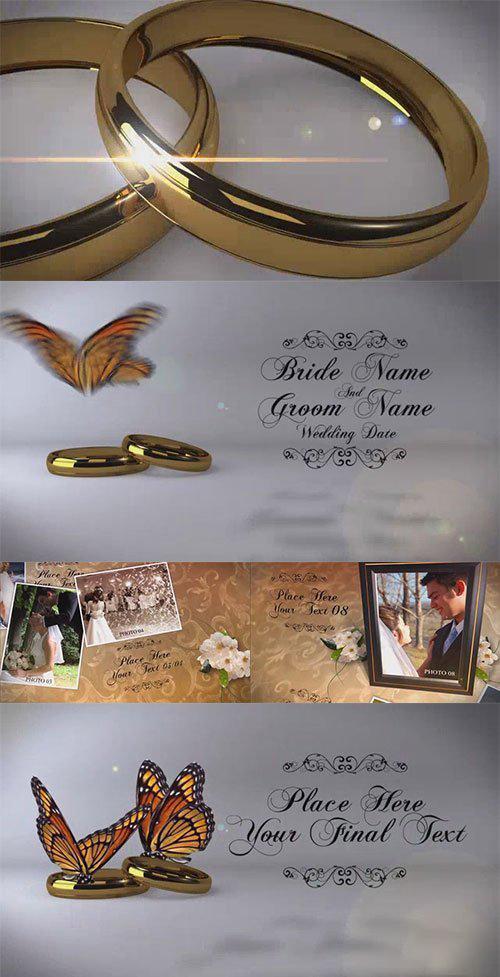 BlueFX -Wedding Album After Effects Template