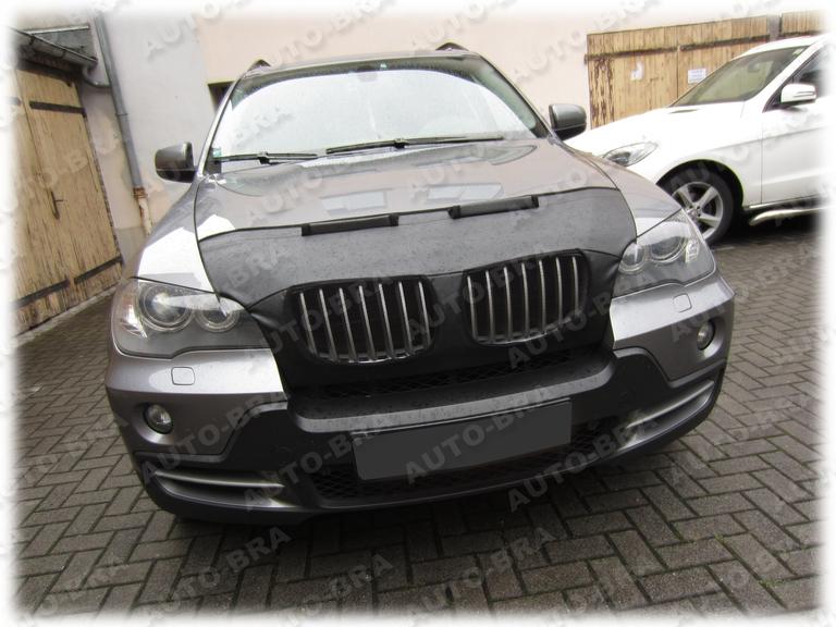BRA BMW x5 e70 x6 e71 anno 2006-2013 LOGO BMW pietrisco Protezione Tuning Car Bra